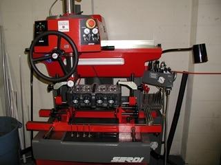 Serdi high performance valve seat machine