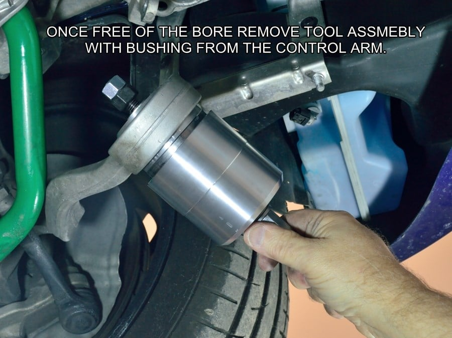 GAS BMW On Vehicle Control Arm Bushing Removal Tool