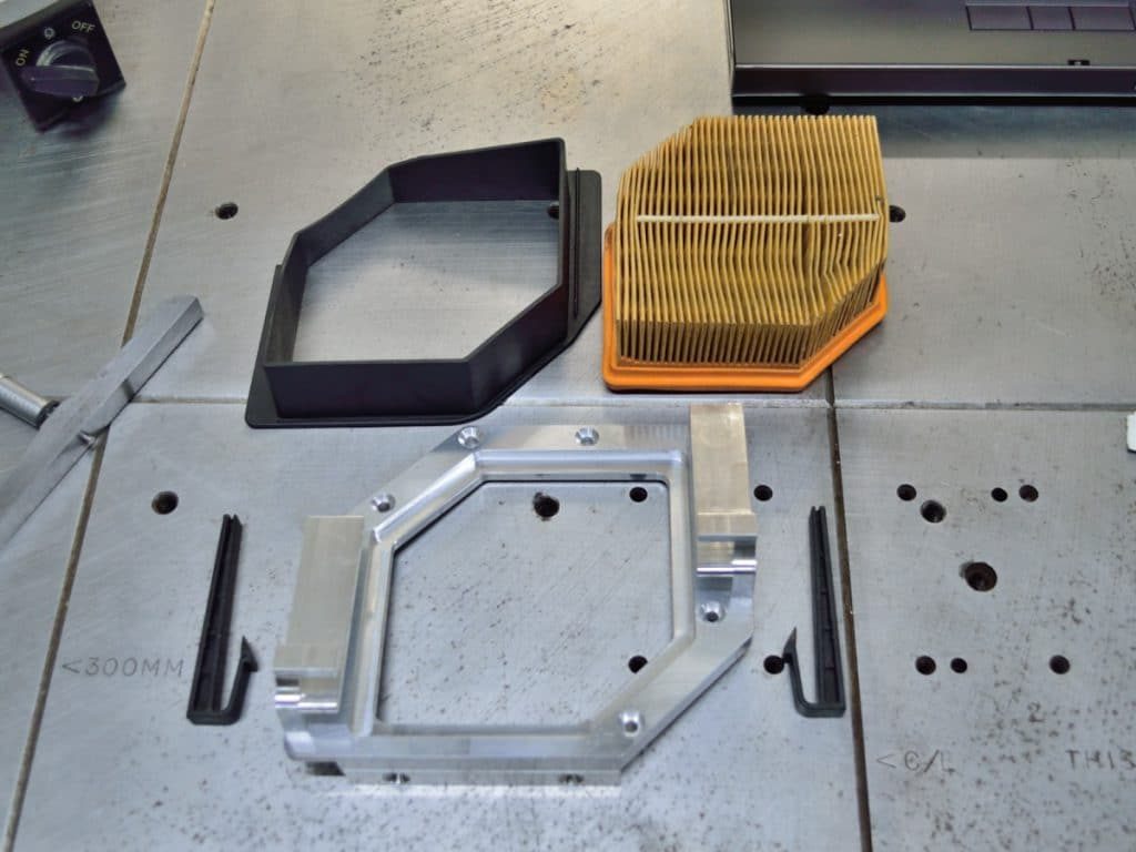 GAS BMW K1200GT-K1300GT Dual Inlet Airbox Mod