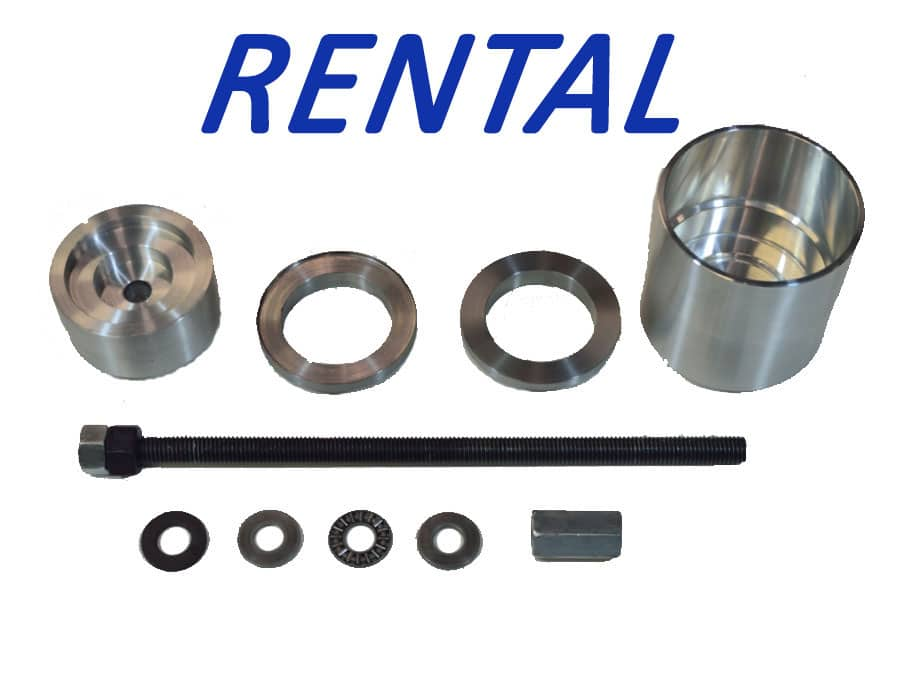 GAS BMW On Vehicle Control Arm Bushing Removal Tool Rental $35.00 (Includes $214.95 Security Deposit)