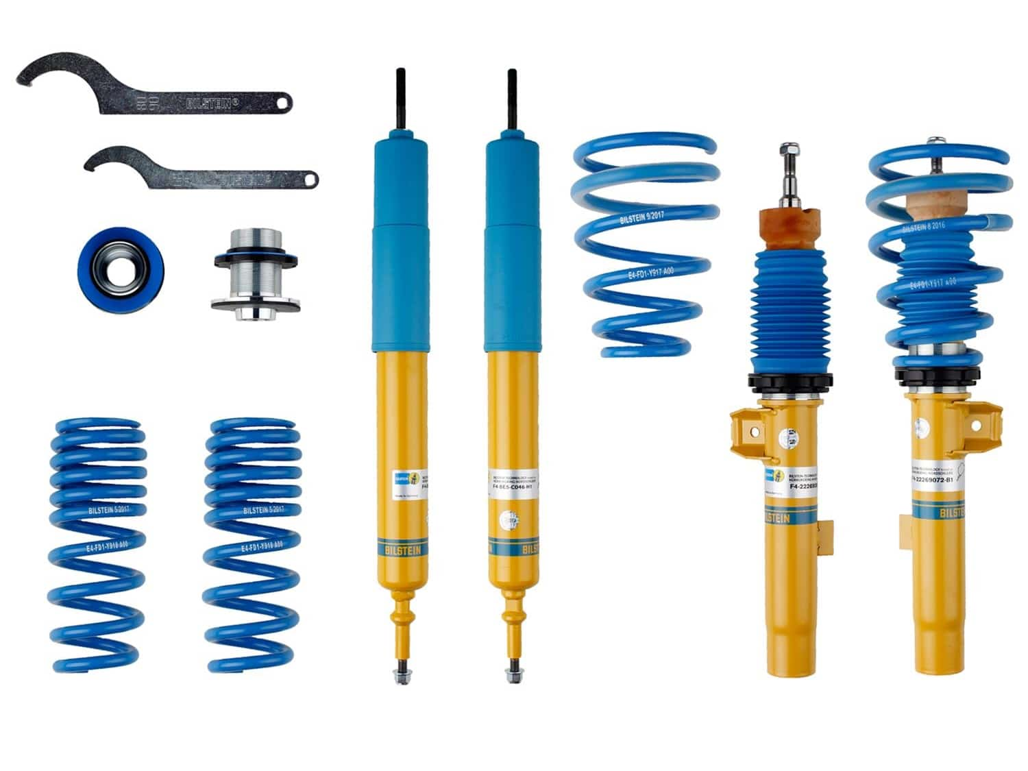 BMW E82/E90 Bilstein B14 PSS Coilover Kit 47-269064