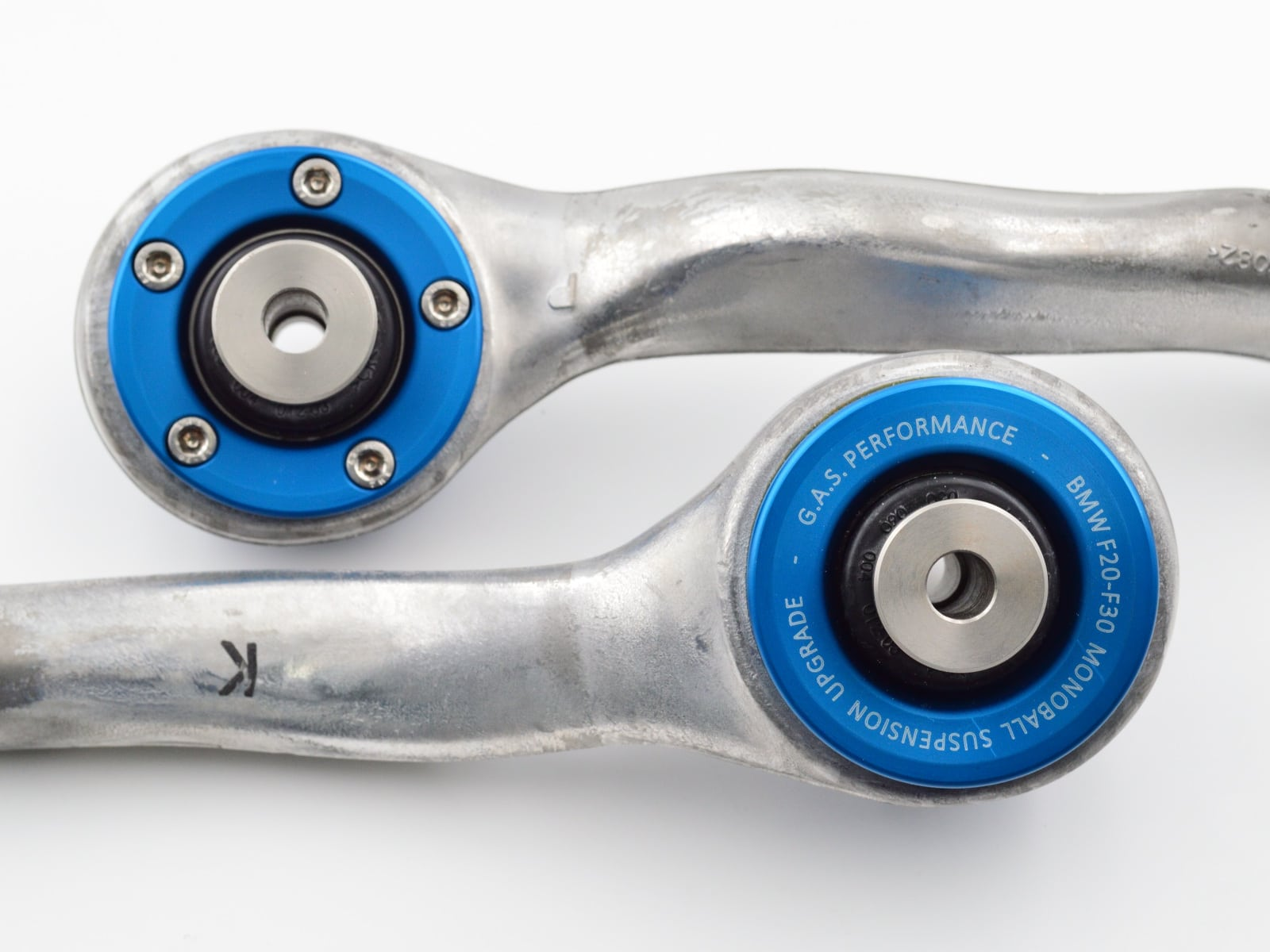 GAS BMW F20-F30 Monoballs Pre-installed into New Control Arms