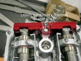 CAM LOCK BLOCKS CLAMP