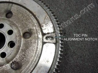 FLYWHEEL TDC HOLE